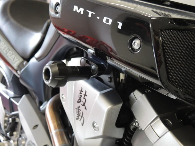 RDmoto アールディーモト ガード・スライダー クラッシュプロテクター【Crash protectors】 Colour of car:white polyamid MT-01