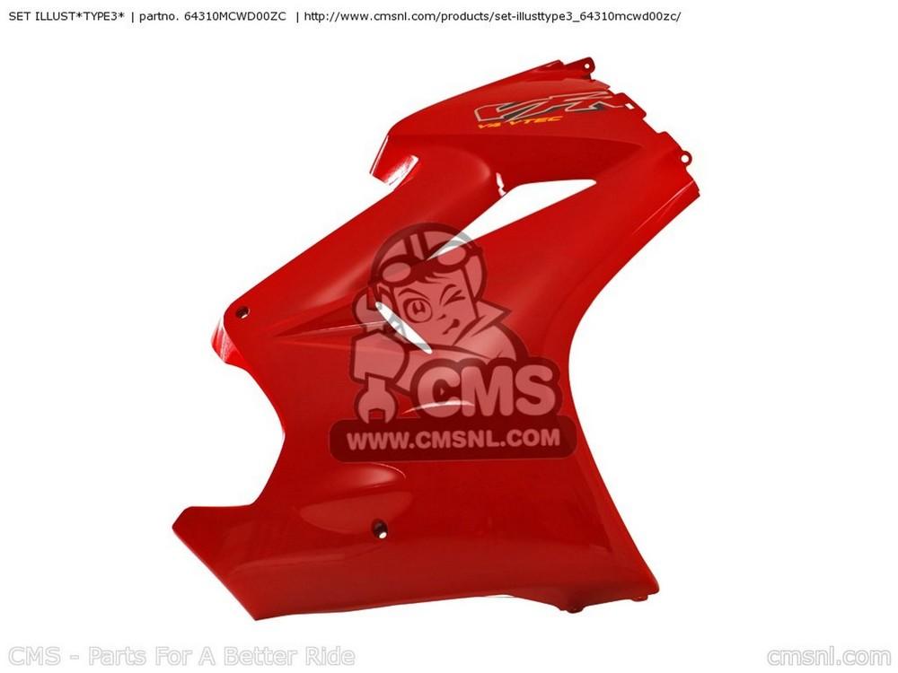 CMS シーエムエス SET ILLUST*TYPE3* VFR800 (2) AUSTRALIA VFR800 (2) FRANCE VFR800A (2) CANADA / ABS VFR800A (2) ENGLAND / ABS