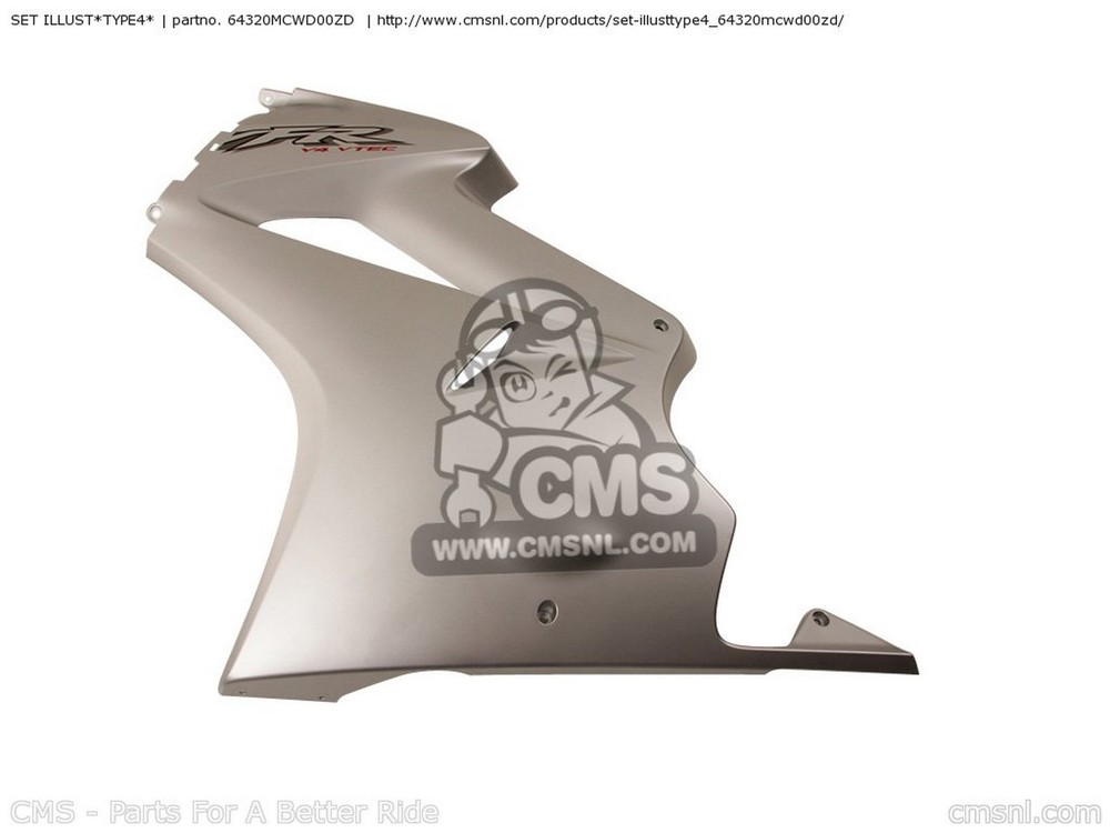 CMS シーエムエス タンク SET ILLUST*TYPE4* VFR800 2002 (2) FRANCE VFR800A 2002 (2) CANADA / ABS VFR800A 2002 (2) ENGLAND / ABS