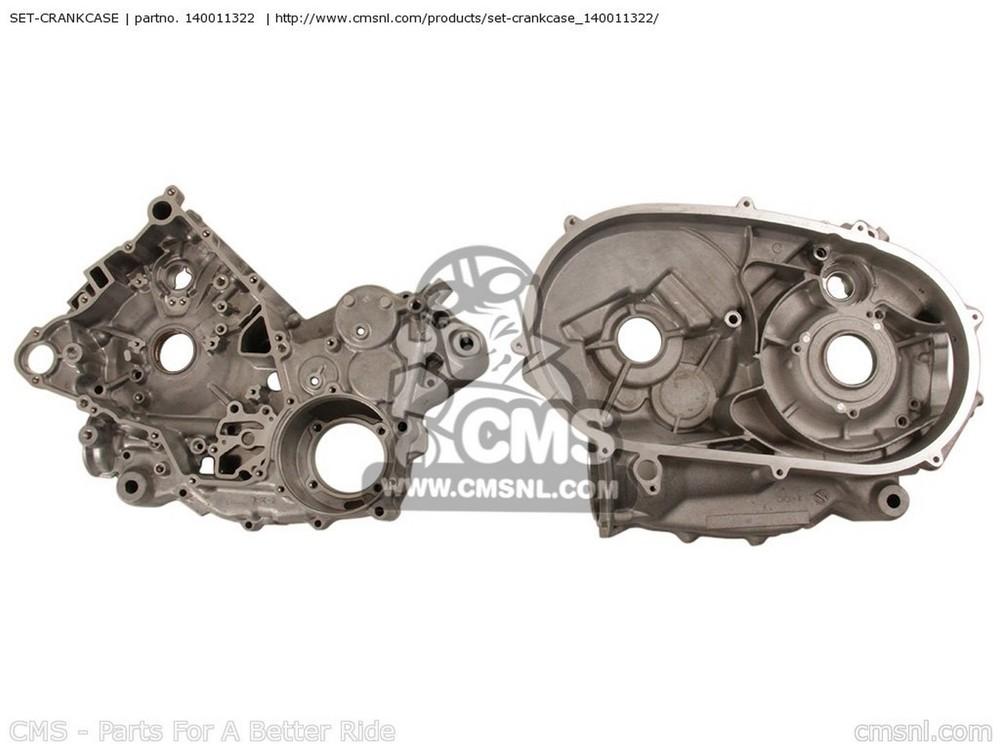 CMS シーエムエス SET-CRANKCASE KSV700-A1 KFX700 2004 USA KSV700-B1 KFX700 2004 USA KVF700-A1 PRAIRIE700 2004 USA / 4X4 KVF700-B1 PRAIRIE700 2004 USA / 4X4