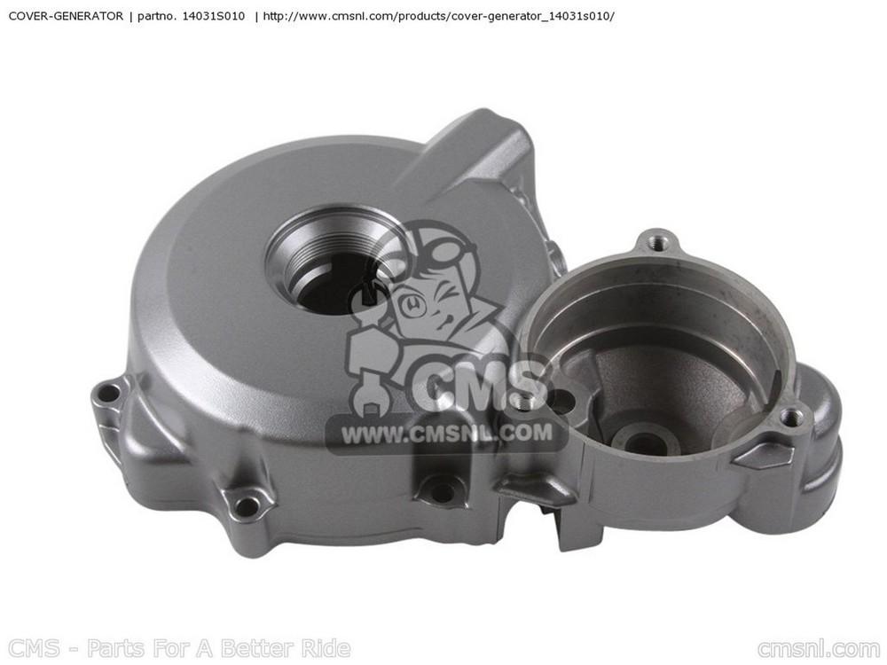 CMS シーエムエス エンジンカバー COVER-GENERATOR KSF400-A3 KFX400 2005 USA KSF400-A6F KFX400 2006 USA