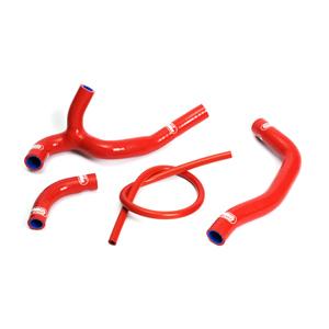 SAMCO SPORT サムコスポーツ ラジエーター関連部品 クーラントホース(ラジエーターホース) カラー:レッド CRF 450 R 2005-2008