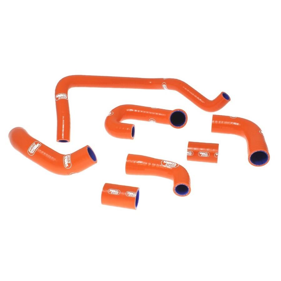 SAMCO SPORT サムコスポーツ ラジエーター関連部品 クーラントホース(ラジエーターホース) カラー:レッド (限定色) 990 Superduke R 2008-2014