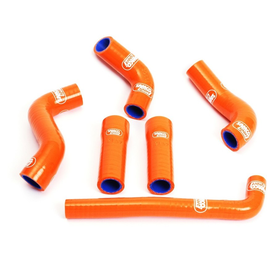 SAMCO SPORT サムコスポーツ ラジエーター関連部品 クーラントホース(ラジエーターホース) カラー:レッド (限定色)