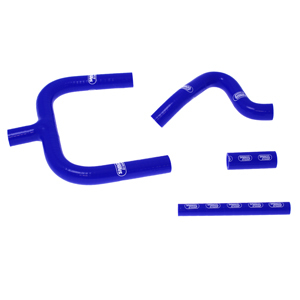 SAMCO SPORT サムコスポーツ ラジエーター関連部品 クーラントホース(ラジエーターホース) カラー:ライトニングブルーカモ (限定色) TM 85 2004-2011