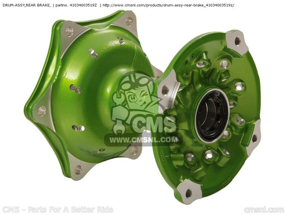CMS シーエムエス その他ブレーキパーツ DRUM-ASSY,REAR BRAKE, KX250-W9FA KX250F 2009 USA KX450-E9FA KX450F 2009 USA