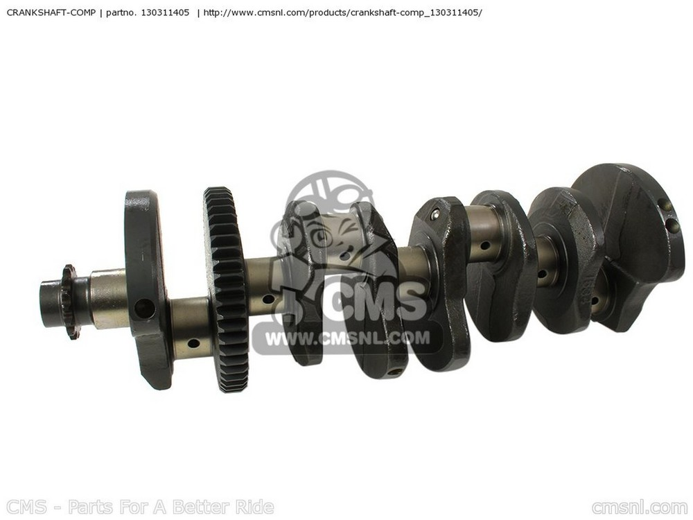 CMS シーエムエス CRANKSHAFT-COMP ZX750P8 NINJA ZX7R 2003 USA CALIFORNIA CANADA