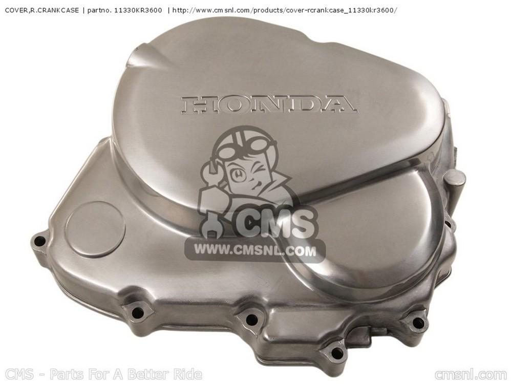 CMS シーエムエス その他エンジンパーツ COVER,R.CRANKCASE CA125 REBEL S AUSTRIA | KPH CA125 REBEL T AUSTRIA | KPH