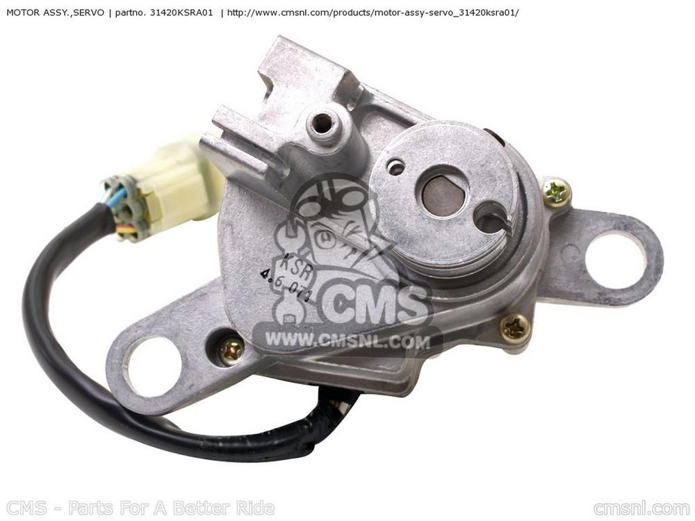 CMS シーエムエス (31420-KSR-505) MOTOR ASSY.,SERVO CR125R (4) AUSTRALIA CR125R (4) EUROPEAN DIRECT SALES CR125R (4) USA CR250R 2004 (4) USA