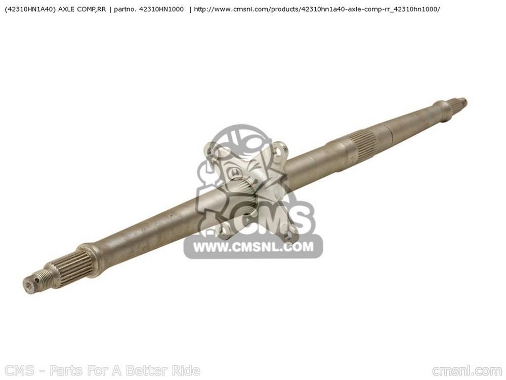 CMS シーエムエス ホイール関連パーツ アクスルコンプ、RR(42310-HN1-A40)