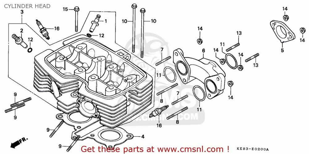 CMS シーエムエス その他エンジンパーツ HEAD COMP,CYLINDE CA125 REBEL S AUSTRIA | KPH CA125 REBEL T AUSTRIA | KPH