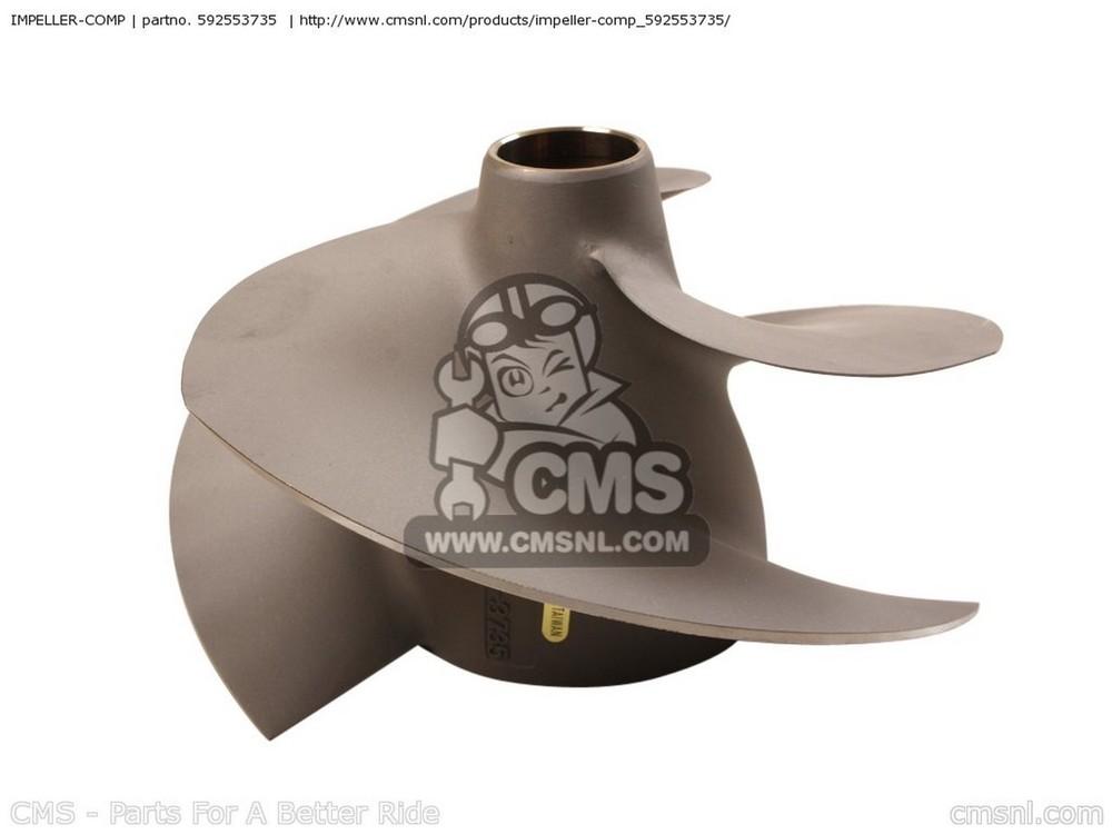 CMS シーエムエス その他エンジンパーツ IMPELLER-COMP JT1500-B7F JETSKI ULTRA 250X 2007 USA