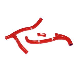 SAMCO SPORT サムコスポーツ ラジエーター関連部品 クーラントホース(ラジエーターホース) カラー:ニンジャグリーンカモ (限定色) CRF 450 R 2009-2012