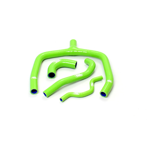 SAMCO SPORT サムコスポーツ ラジエーター関連部品 クーラントホース(ラジエーターホース) カラー:ダークグリーン (限定色) KX 250 F 2009-2016