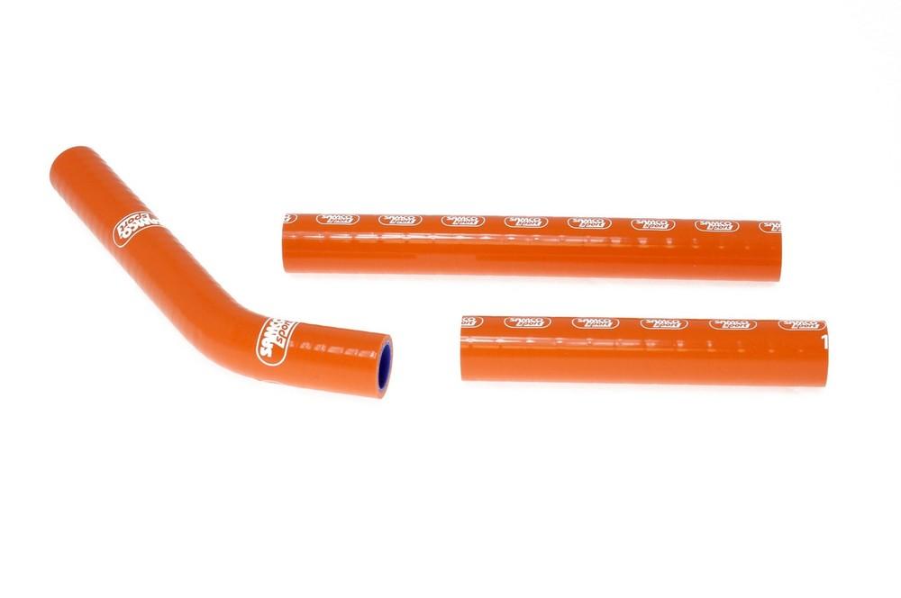 SAMCO SPORT サムコスポーツ ラジエーター関連部品 クーラントホース(ラジエーターホース) カラー:オレンジ 125 SX 2007-2010 144 SX 2007-2010