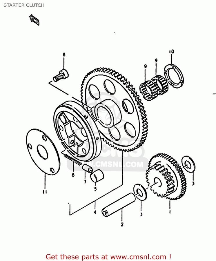 CMS シーエムエス その他エンジンパーツ (1260049811) CLUTCH SET,STARTER