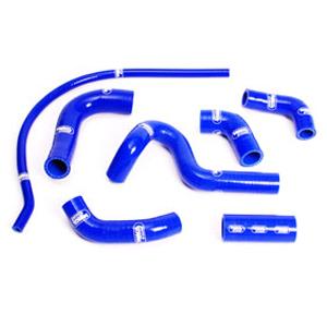 SAMCO SPORT サムコスポーツ ラジエーター関連部品 クーラントホース(ラジエーターホース) カラー:メタリックシルバー (限定色) 749 R 04-07 999 R 05-06 999 S 05-06