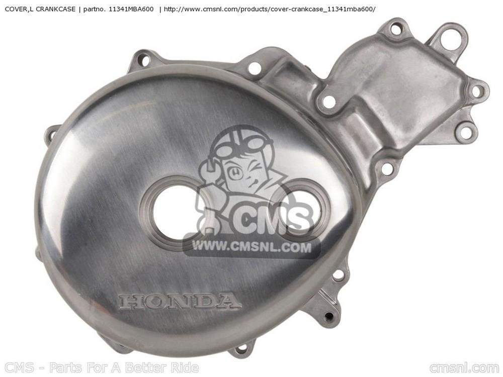 【送料無料】エンジンパーツ CMS シーエムエス 11341MBA600  【ポイント5倍開催中!!】【クーポンが使える!】 CMS シーエムエス エンジンカバー COVER,L CRANKCASE