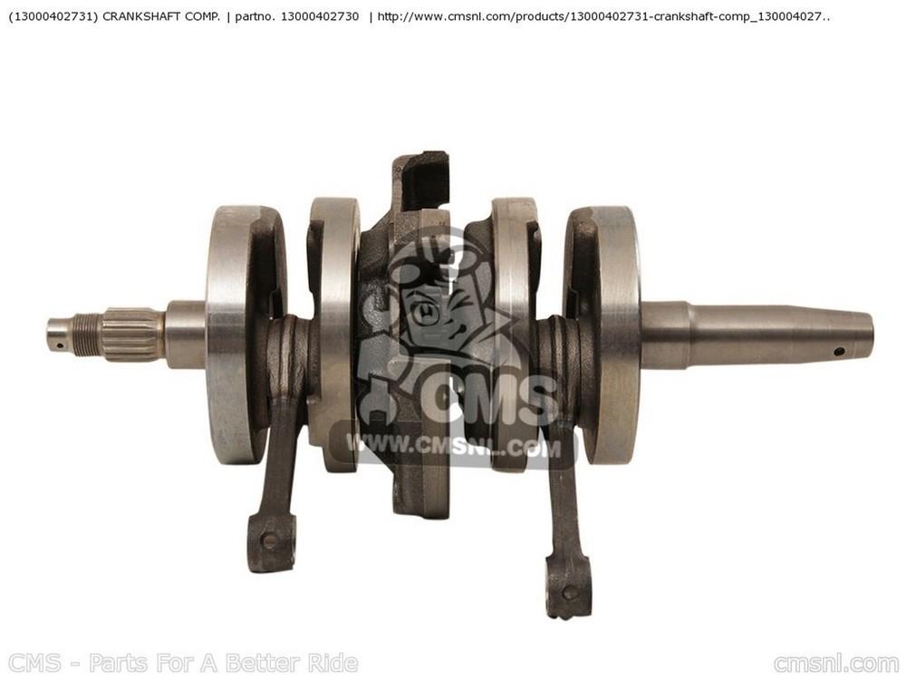 CMS シーエムエス その他エンジンパーツ (13000-402-731) CRANKSHAFT COMP. CA125 REBEL S AUSTRIA | KPH CA125 REBEL T AUSTRIA | KPH
