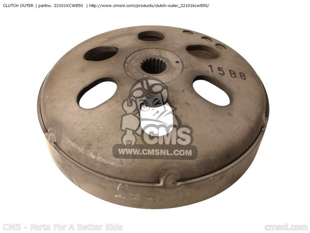 CMS シーエムエス クラッチ CLUTCH OUTER SH125 D9 UH125D 9 FRANCE | CMF KMH 2F