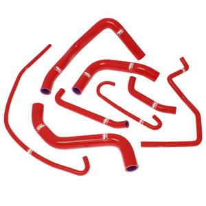 SAMCO SPORT サムコスポーツ ラジエーター関連部品 クーラントホース(ラジエーターホース) カラー:ソーラーオレンジカモ (限定色) GSX-R600 2011-2017 GSX-R750 2011-2017