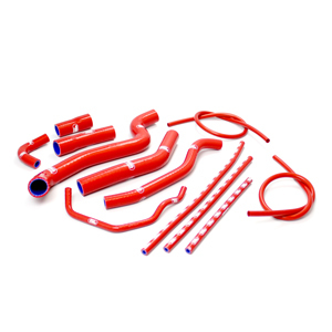 SAMCO SPORT サムコスポーツ ラジエーター関連部品 クーラントホース(ラジエーターホース) カラー:オレンジ (限定色) Fazer 1000 06-11 FZ1 1000 06-11