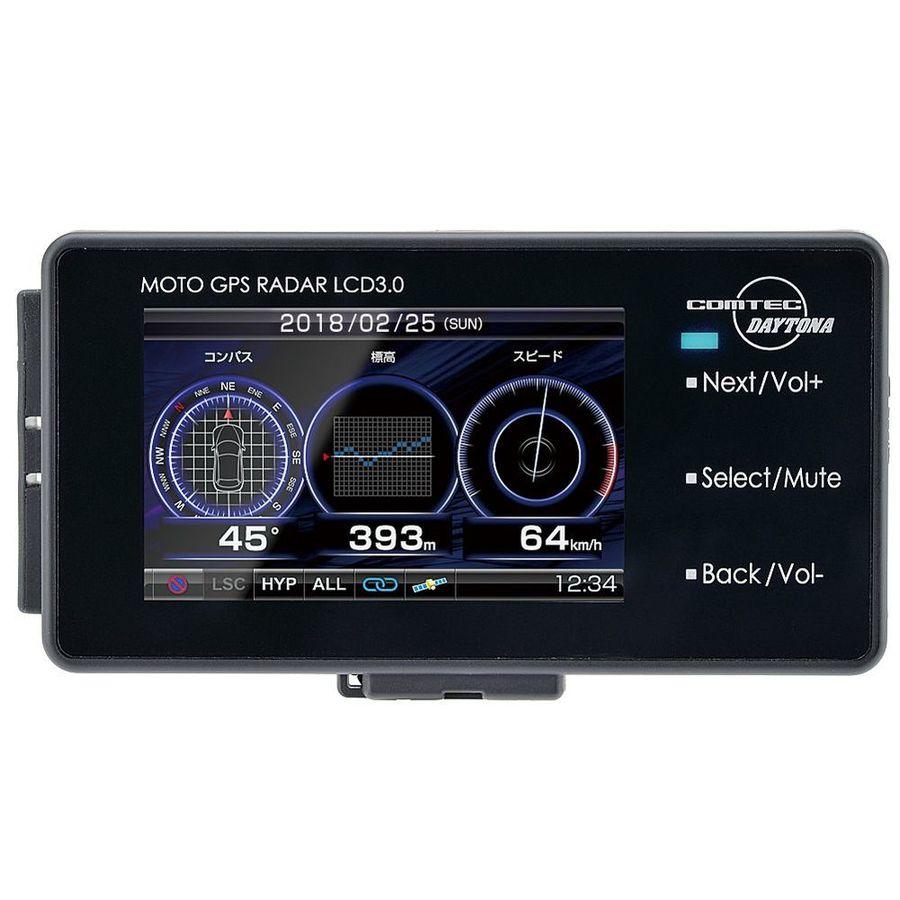 【在庫あり】DAYTONA デイトナ MOTO GPS RADAR LCD 3.0 (モトジーピーエスレーダーLCD 3.0)