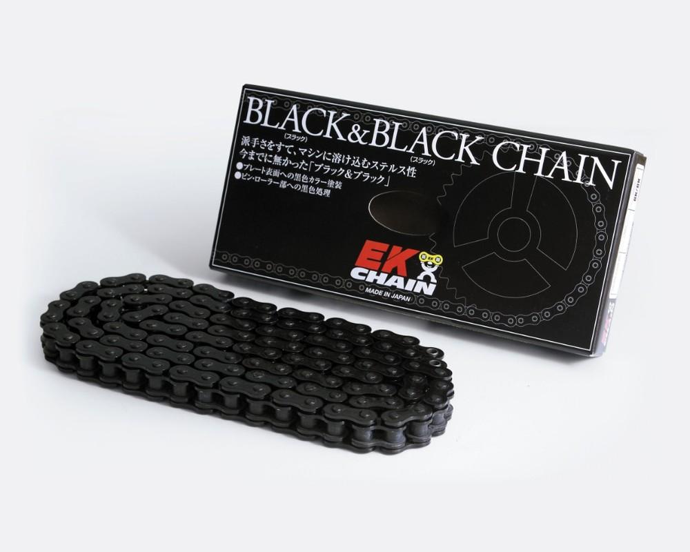 EKチェーン 江沼チェーン EK チェーン 520SRX2 (ブラック/ブラック) リンク数:104L