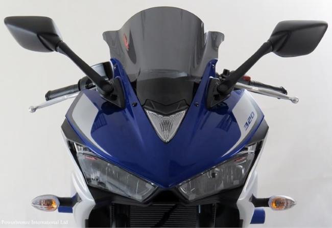 ODAX オダックス POWER BRONZE スポーツスクリーン カラー:ダークスモーク YZF-R25 YZF-R3