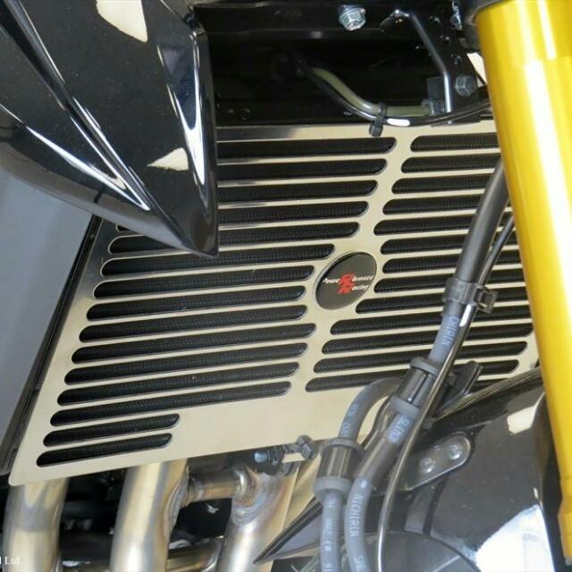 ODAX オダックス コアガード POWER BRONZE ラジエターカバー GSX-S750