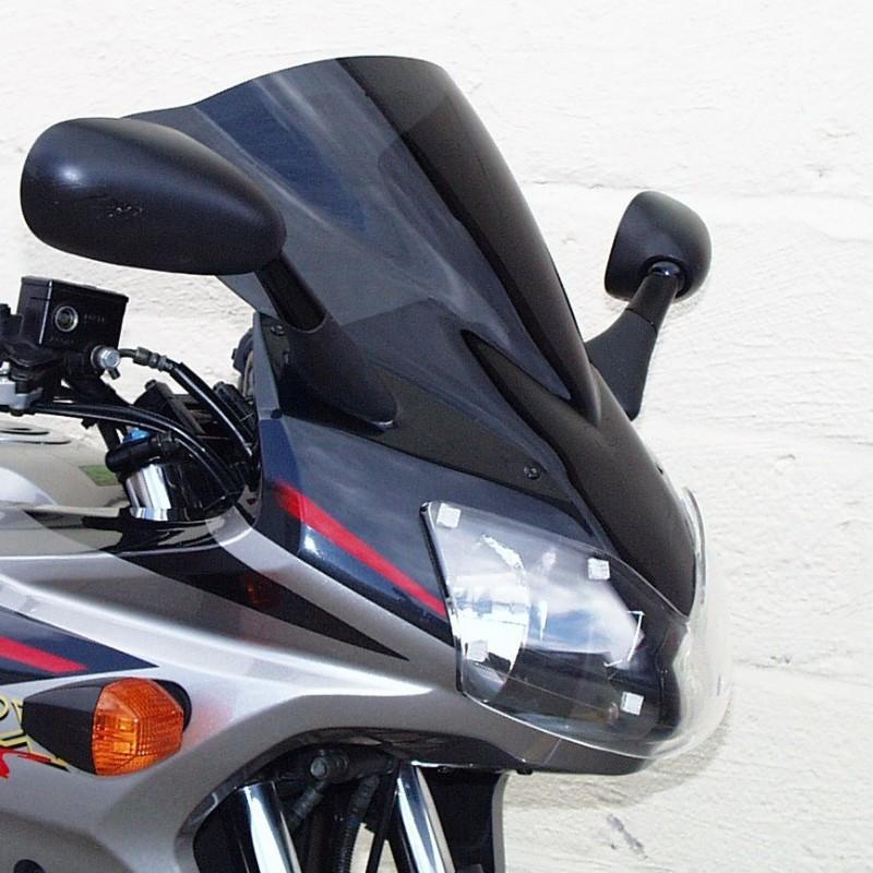 【ポイント5倍開催中!!】Skidmarx スキッドマークス ウィンドスクリーン ダブルバブルタイプ カラー:ダークスモーク ZRX1200S
