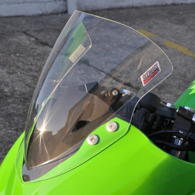 Skidmarx スキッドマークス ウィンドスクリーン ダブルバブルタイプ カラー:ダークスモーク NINJA250 2013-2016