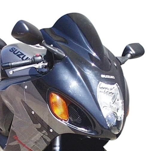 【ポイント5倍開催中!!】Skidmarx スキッドマークス ウィンドスクリーン ダブルバブルタイプ カラー:ライトスモーク GSX1300R Hayabusa 1999-2007