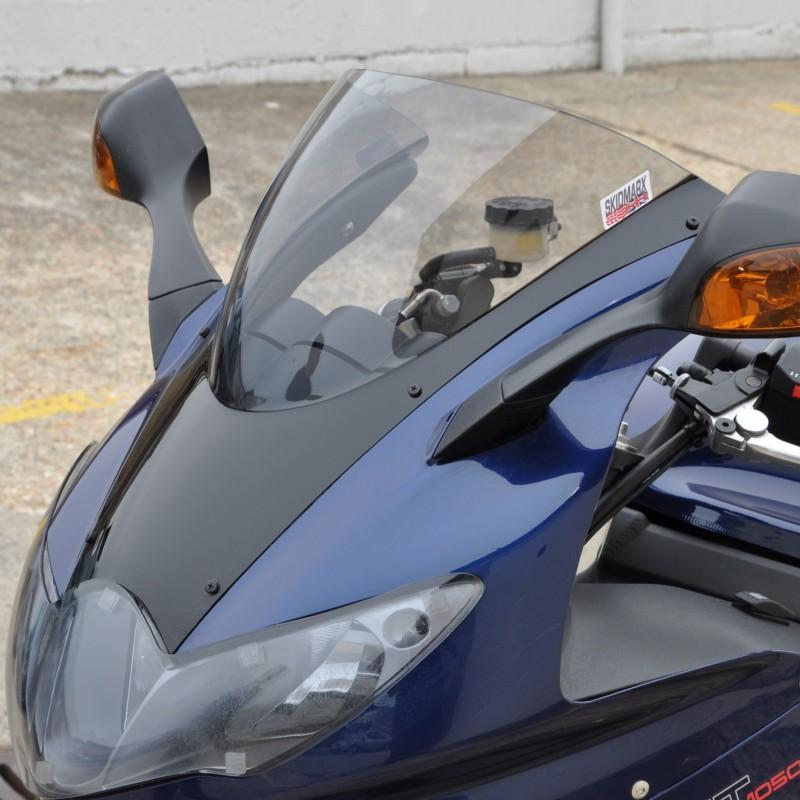 【ポイント5倍開催中!!】Skidmarx スキッドマークス ウィンドスクリーン ダブルバブルタイプ カラー:ライトスモーク Sprint GT Sprint ST