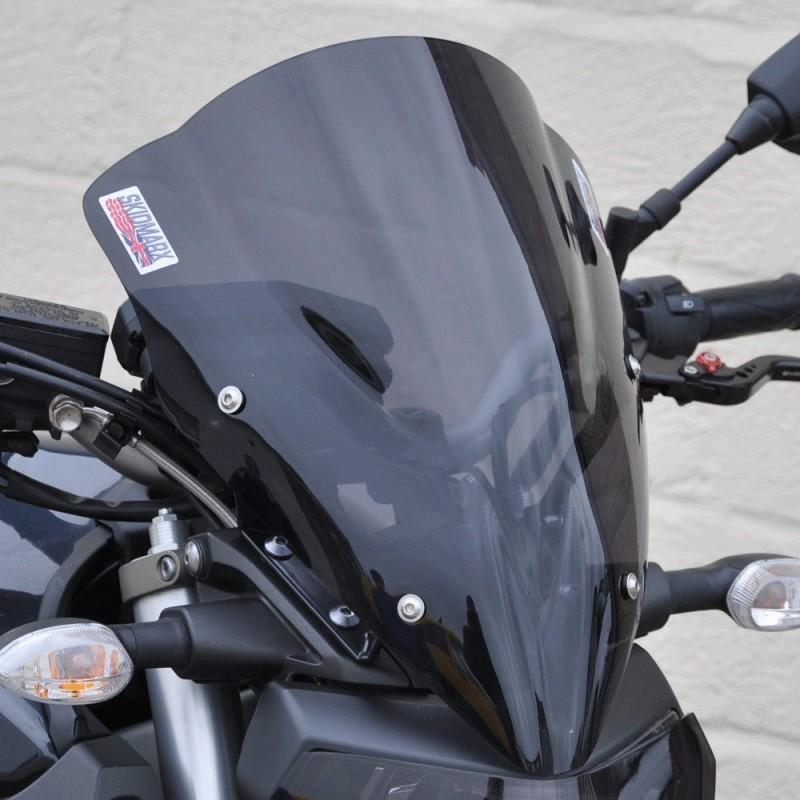 Skidmarx スキッドマークス ウィンドスクリーン ダブルバブルタイプ カラー:ブラック MT-09