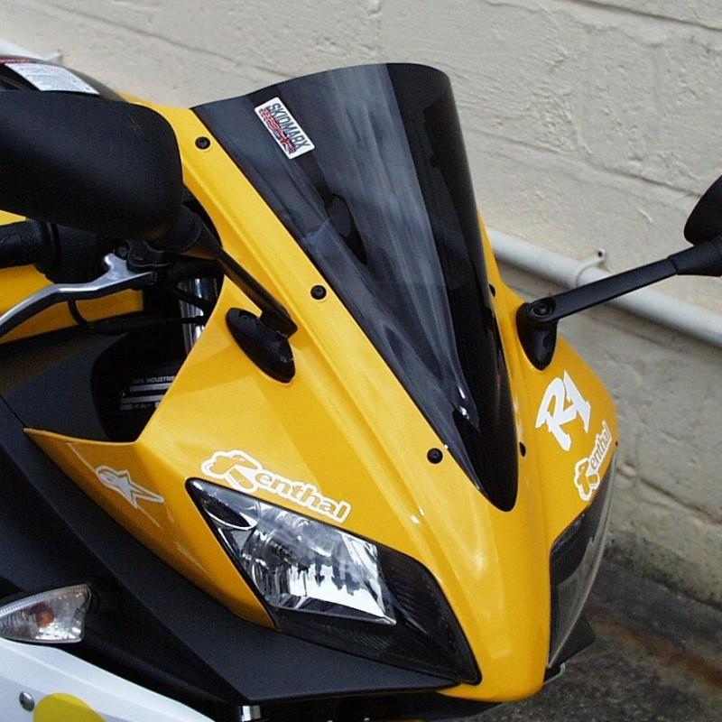 Skidmarx スキッドマークス ウィンドスクリーン ダブルバブルタイプ カラー:ダークスモーク YZF-R125