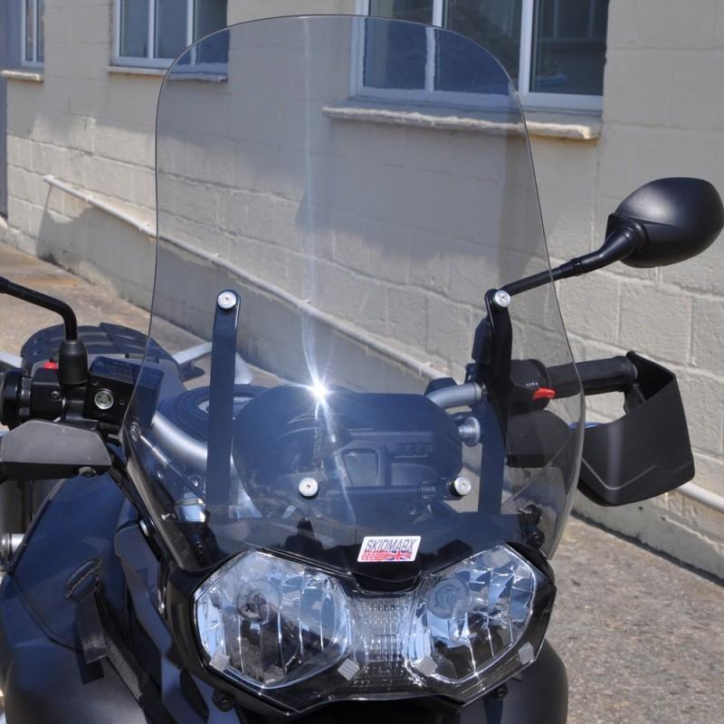 Skidmarx スキッドマークス フライウィンドスクリーン カラー:ライトスモーク Tiger800