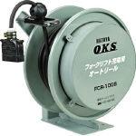 TRUSCO トラスコ中山 工業用品 OKS フォークリフト充電用オートリール 5m