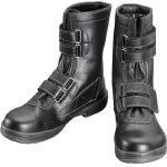 TRUSCO トラスコ中山 工業用品 シモン 安全靴 長編上靴マジック式 SS38黒 29.0cm