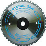 TRUSCO トラスコ中山 工業用品 モトユキ グローバルソーファインメタル 鉄用