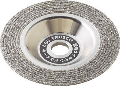 トラスコ中山 工業用品 TRUSCO 電着ダイヤモンドホイール 100X14X15 切断・研磨兼用