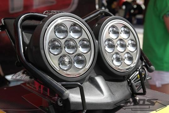 MOS モス ヘッドライト本体・ライトリム/ケース ヤマハ BWS-125 ドラゴンアイ プロジェクター ヘッドライト BWS125