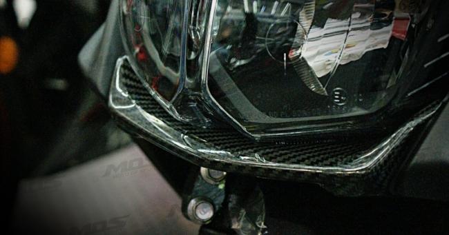 MOS モス スクーター外装 フロント ロワーリッドカバー BWS R