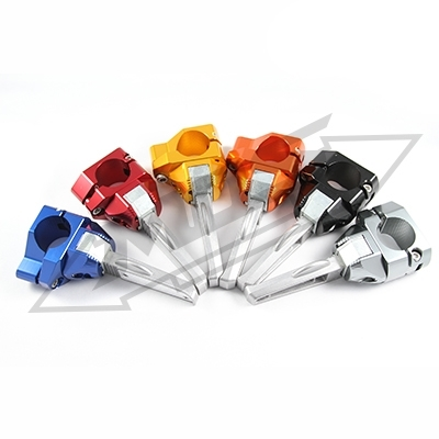MOS モス フットペグ・ステップ・フロアボード ヤマハ BWS/ZUMA CNC ポップアウト ステップバー color:YELLOW BWS 125 BWS125