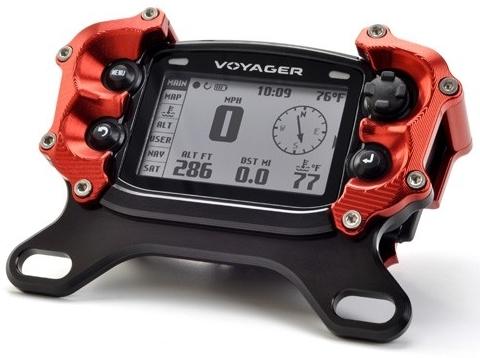 TrailTech トレイルテック Voyagerメーター用トップマウントプロテクター(アルミニウムマウント)