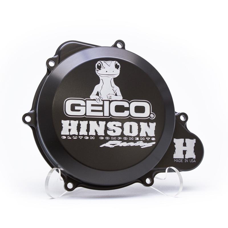 HINSON ヒンソン エンジンカバー Geico ファクトリー ビレットクラッチカバー CRF250R
