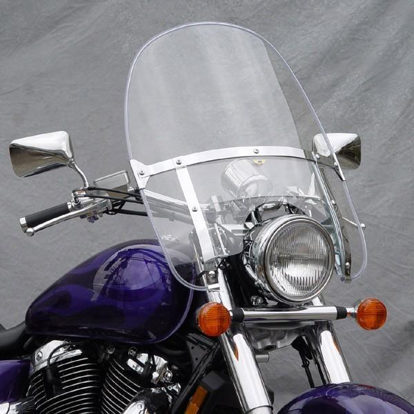 National Cycle ナショナルサイクル スクリーン BEADED HEAVY DUTY(TM) ウインドシールド (Beaded Heavy Duty (TM) Windshield)
