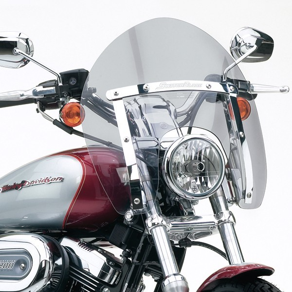 National Cycle ナショナルサイクル SwitchBlade(R) ショーティー(R)クイックリリース ウインドシールド (SwitchBlade (R) Shorty (R) Quick Release Windshield)