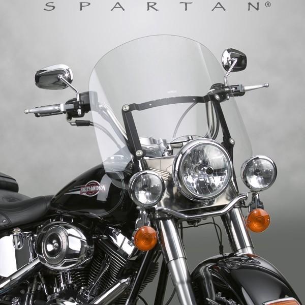 National Cycle ナショナルサイクル スクリーン Spartan(R) クイックリリース ウインドシールド (Spartan (R) Quick Release Windshield)