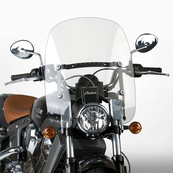 National Cycle ナショナルサイクル Spartan(R) クイックリリース ウインドシールド (Spartan (R) Quick Release Windshield)